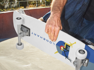 Lonehart Skate Deck