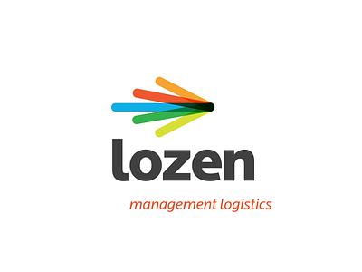 Lozen Logo Animation motiongraphics 2d mark after effects branding transition aep symbol motion logistics visual identity logo animation animation brand logo