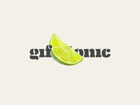 A logo for gif&tonic