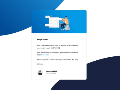 Email Branding — Sellsy email marketing email template proximanova email design mail mailing email web illustration uxdesign ux uidesign ui branding design