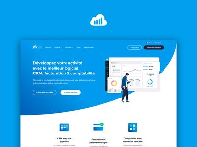 Sellsy Rebranding — Website front webdesign uxdesign uidesign website ux ui animation web branding design illustration