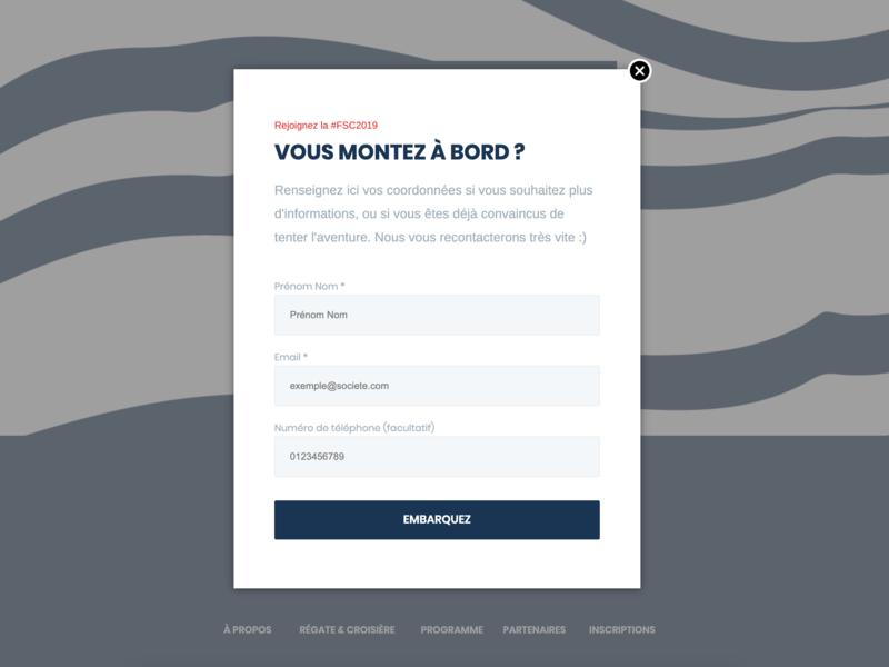 French Startup Cup — Vous montez à bord ? website webdesign web uxdesign ux front ui uidesign design branding