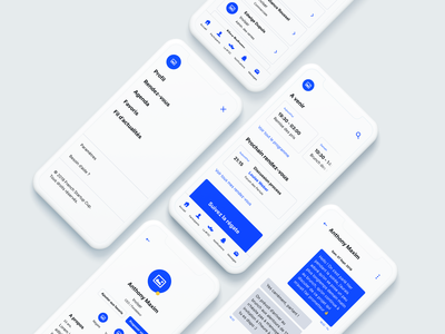 Event Mobile App — Wireframing
