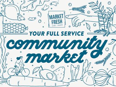 Market Fresh Mural