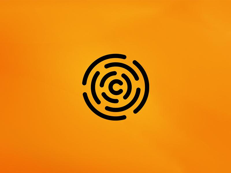 Smart Citrus logottype logo ii fingerprint system house door orange citrus smart