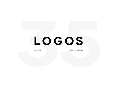 Logo set vol.2 branding logoinspirations logodesign behance project design like behance sign mark lu4 logotype logo