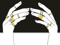 RINGS // illustration