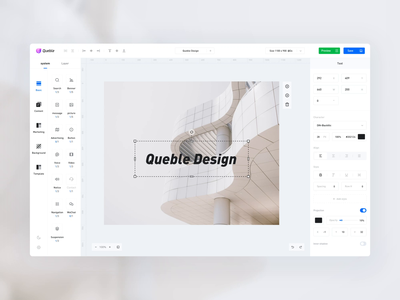 Queble Design design icon ux illustration app ui