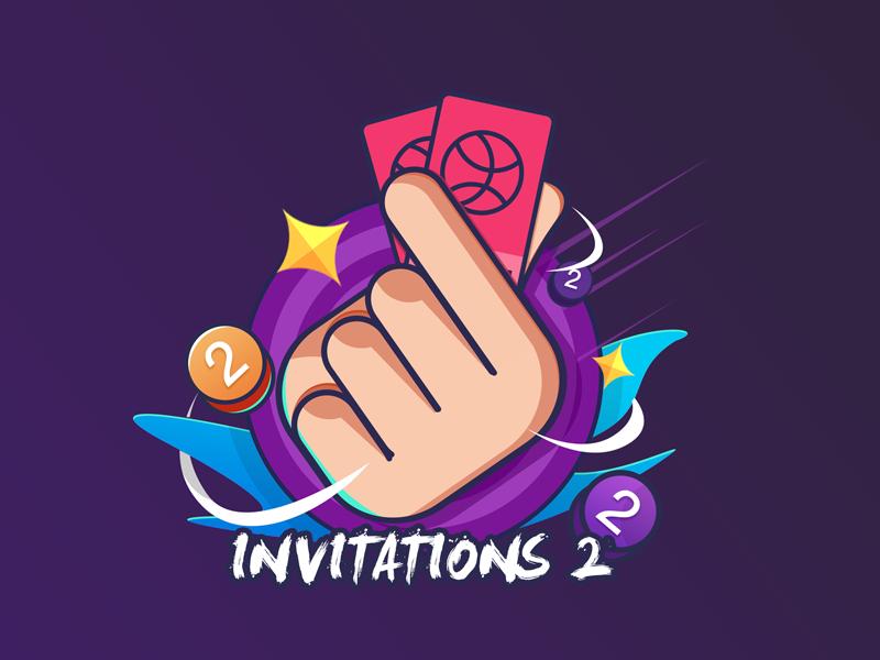 2 invitation code invitations