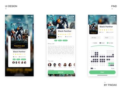 Film app iteration