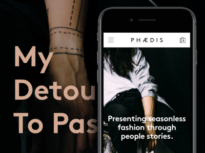 My Detour to Passion — PHAEDIS shopoing mobile fashion shop ecommerce website phaedis