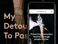 My Detour to Passion — PHAEDIS