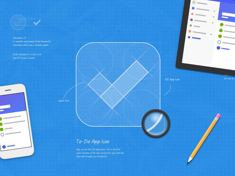 Introducing Microsoft To-Do illustration pencil icon microsoft app blueprint
