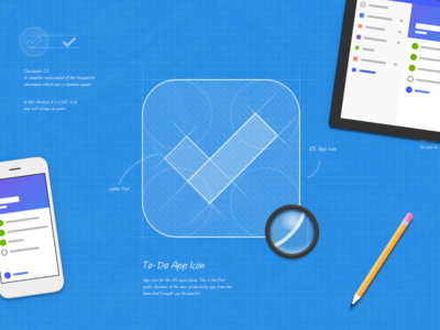 Introducing Microsoft To-Do illustration pencil icon microsoft app blueprint