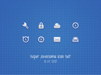 Super Awesome Icon Set (Preview 1)