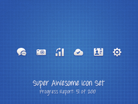 Super Awesome Icon Set (Preview 2)