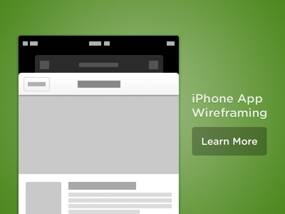 iPhone App Wireframing