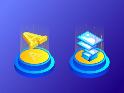 2.5D_icon 插图