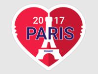 Paris Sticker Rebound