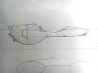 Rocket Bike Sketch 01