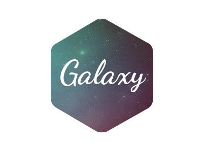 Galaxy Logo logo design psd