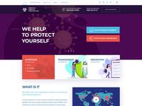 Sirona - Coronavirus Disease Prevention Landing Page