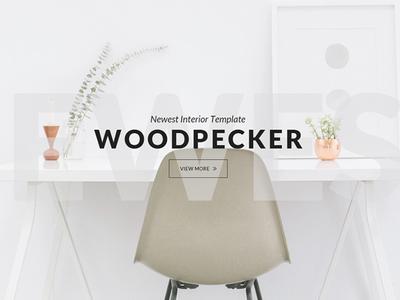 Woodpecker Interior Website Template