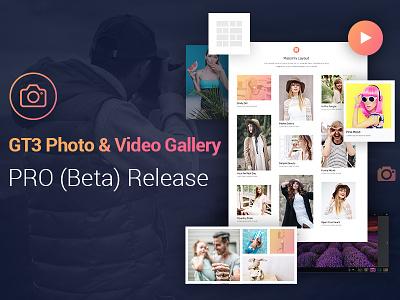 GT3 Photo & Video Gallery PRO - Beta Release gallery plugin photo wp plugin photography photo gallery wordpress plugin plugin