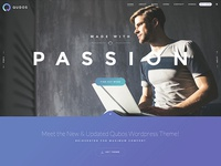 Elementor WordPress Theme Qudos