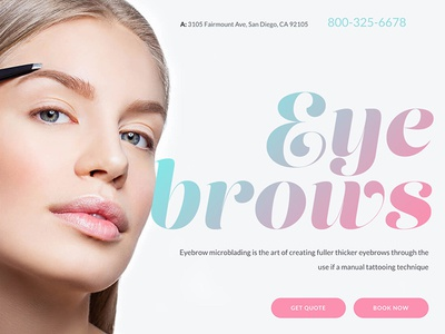 Browcraft - Microblading & Eyebrow Beauty Salon WordPress Theme