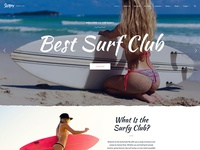 Surfy - For Surf School Lessons And Surf Clubs Wordpress Theme