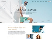 Zayne Elementor Business WordPress Theme - Home II