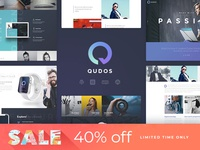 Qudos WordPress Theme Sale - 40% OFF