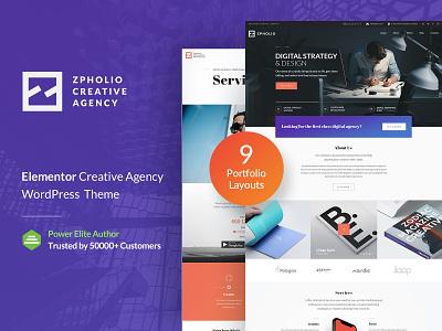 Zpholio WP Theme New Home Page clean gt3themes photography responsive wordpress theme photo gallery portfolio creative wordpress web design design