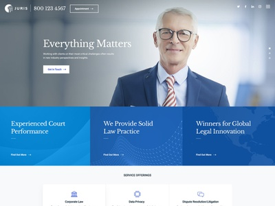 Juris - Law Consulting Services WordPress Theme wordpress template wordpress theme gt3themes solicitor legal lawyer law firm law justice finance counsel consultant business barrister attorney advocate adviser accountant