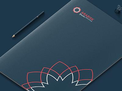 Arabisk Graphics Folder design illustration logo branding
