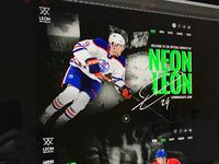 NEON LEON (Unofficial Leon Draisaitl Case Study)