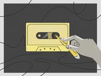 Blackformat Cassette