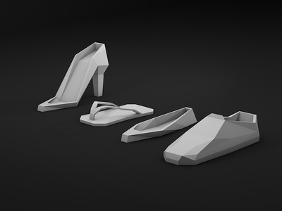 Low Poly Kicks