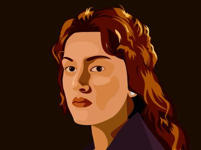 Kate Winslet Illustrations modern illustrations kate illustration illustrations kate winslet illustration kate