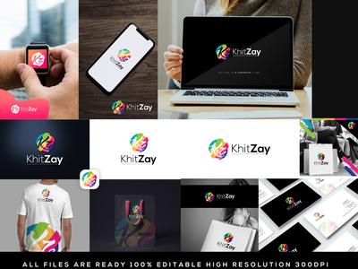 KhitZay Logo For E-Commerce Store