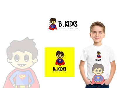 Character Logo Design For B.KIDS
