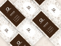 Business Cards For Coffee Shop