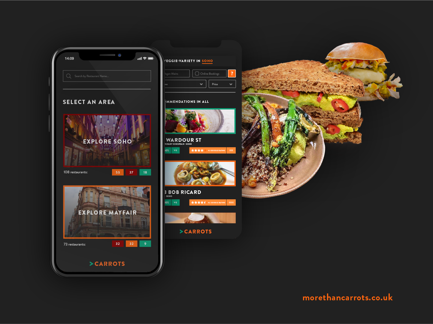 More Than Carrots App Campaign by Charlotte Downs on Dribbble