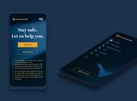 CryptoScamDB mobile mobile ui crypto blockchain ux ui