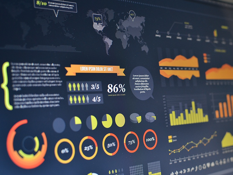Free Vector Infographic Kit free psd vector ai chart info infographic kit download freebie map