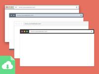 Browser Mock-up Frames - Free Download