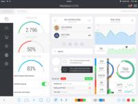 iPad iOS 7 UI Kit
