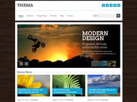 Thema Responsive HTML Template