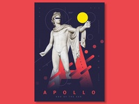 Apollo poster design | poster collection 2018